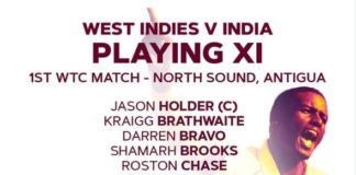 India vs West Indies Live Score